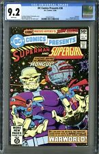 DC Comics Presents #28 (DC 12/80) CGC 9.2, White! 2nd Mongul!