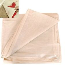 2 X POLY BACKED HEAVY DUTY LAMINATED 12FT X 9FT COTTON DUST SHEETS * WATERPROOF*