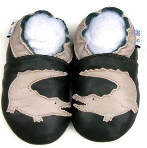 Jinwood Baby Shoes Soft Sole Toddler Infant Kid Mocassin Boys Crocodile 6-12M