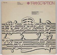 """Transcription"" Claude Garden, Harmonica Radio Canada International RCI-443 VG+"