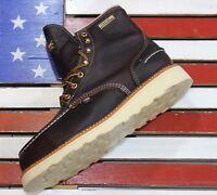 """Thorogood 6"""" American Heritage Mens Waterproof Steel Toe FACT 2nd Boots 804-3600"""