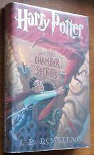 Harry Potter and the Chamber of Secrets - J.K. Rowling 1st/2nd HC/DJ FINE!