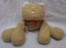 "Hallmark VINTAGE TAN CALLIE THE CAT 5"" Plush Stuffed Animal"