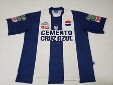 Vintage Atletica Cemento Cruz Azul Soccer Jersey XL