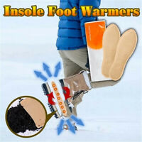 1 Pair Self-Heating Insoles Winter Warm Shoe Insert Spontaneous Heated Insoles