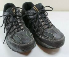 Men's Skechers Black/Gray Sneakers Walking Shoes Size 10.5 Tennis Shoes