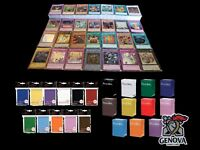 YuGiOh 100 Random ALL Foil Cards Lot Super, Ultra, Secret! Deck Box + Sleeves!