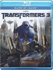 Transformers 3 3D ( Blu-Ray 3D + Blu-Ray )  NUOVO