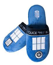 Doctor Who Tardis Mule Slippers 5 - 7 91056