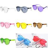 Unisex Sunglasses Cat Eye Shades Eyewear Candy Color Women Men Sun glasses Set