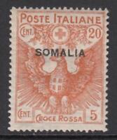 ITALY - SOMALIA Red Cross n.22 cv 100$ MNH**