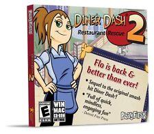 Diner Dash 2 Restaurant Rescue PC Games Windows 10 8 7 Vista XP Computer NEW