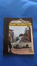 Quattroruote 6 Giugno 1960 anno V  ( n. 54 )