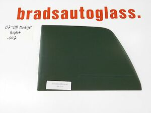 02-08 1500, 03-09 2500,3500 Dodge Ram Sliding Rear Window Back Glass RIGHT Patch