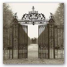 PHOTOGRAPHY ART PRINT Hampton Gate by Alan Blaustein