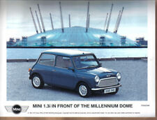 Mini 1.3i & Millenium Dome original colour Press Photograph No. P0002349