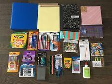NEW Lot of School Office Supplies Pen Marker Pencil Highlighter Notebook 1112