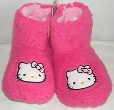 931984aba Hello Kitty Booties PINK PLUSH FREE USA SHIPPING MEDIUM 7-8