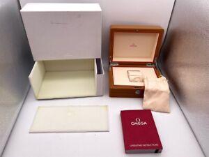 Genuine Omega Wooden Watch Box case Seamaster Speedmaster 0222003