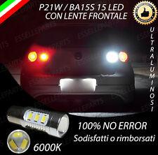 LAMPADA RETROMARCIA CON LENTE FRONTALE 15 LED P21W CANBUS VW GOLF 5 V 6000K