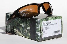 NEW SMITH PROSPECT CHROMAPOP POLARIZED SUNGLASSES BROWN STRIPE / BROWN LENS