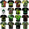 The Avengers Womens/Mens The Hulk Comics Funny 3D Print Casual T-Shirt Short Tee