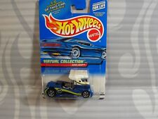 2000 HOT WHEELS ''VIRTUAL COLLECTION'' #118 = SEMI-FAST = WHITE & BLUE ,0910