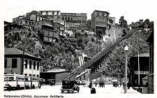 RPPC,Valparaiso,Chile,S.A.Ascensor Artilleria,Funicular Railway,Trolley,c.1930s
