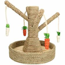 Small Animals Boredom Breaker Fun Tree To Chew & Scratch Toy 25x25x30cm