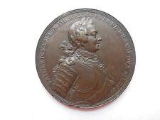 Brandenburg-Preußen 1757 Friedrich II., Schlacht b. Prag, Bronze-Medaille #MH020