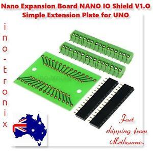 Nano Expansion Board NANO IO Shield V1.O Simple Extension Plate DIY for Arduino