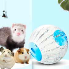 Pet Exercise Ball Animals Mice Hamster Gerbil Safe Jogging Play Cage Treadmill