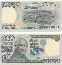 Indonesien / Indonesia - 50000 Rupiah 1995 / 1998 UNC - Pick 136d