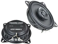 "Vauxhall Opel Astra H 2005 onwards Ground Zero flat speakers 4"" rear+Adapter Bra"