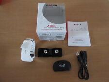 POLAR Pulsuhr Sportuhr A300 HR Weiß 90054235-