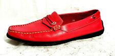 TOD'S Wmn Shoes US 6 EU 36M Pink/Fuschia solid flat heels Slip On Italy