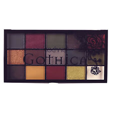 Technic Gothica Pressed Pigments Eyeshadow Eye Shadow Palette, Matte & Shimmer