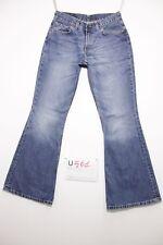 Levi's 544 flare bootcut boyfriend jeans d'occassion Cod.U561 Tg.43 W29 L32