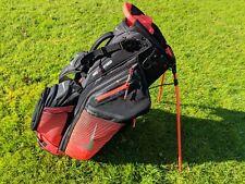 Nike Air Hybrid Golf Stand Bag - 14 Way Divider - Orange / Black
