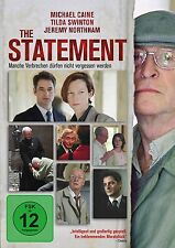 THE STATEMENT (Sir Michael Caine, Tilda Swinton)  DVD NEU