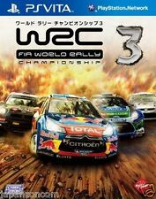 Used PS Vita WRC 3: FIA World Rally  SONY PLAYSTATION JAPANESE IMPORT