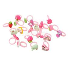 20pcs Birthday Cupcake Rings Bag Fillers Party Supplies Favors Pinata Prizes