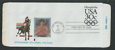 # UC57 OLYMPICS '84,  1983 Fleetwood First Day Airmail Postal Stationery