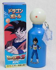Dragon Ball Z KFC Limited Canteens Aluminum Bottle Vegeta JAPAN ANIME