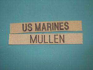Military Name Tapes Custom Design Army Paintball Marine Civil Air Patrol Crafts