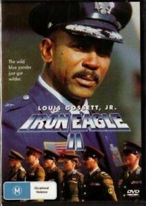 Iron Eagle 2 DVD - Louis Gossett JR - New & Sealed