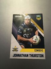 2017 JOHNATHAN THURSTON NORTH QUEENSLAND COWBOYS AUSTRALIAN NRL TRADERS CARD EXC