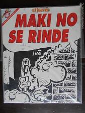 COLECCION PENDONES DEL HUMOR Nº 131 - EL JUEVES - MAKI NO SE RINDE (J2)