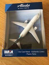 Alaska Airlines Boeing 737 Diecast Metall Flugzeug Spielzeug Geschenk Air