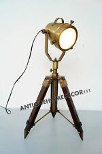 Designer Spot Light Table Lamp Modern Searchlight With Tripod Stand Best Item
